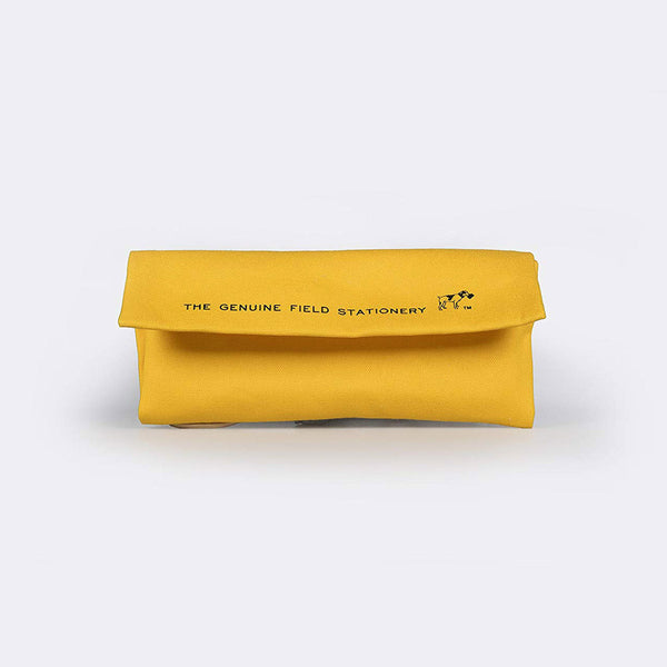 Field Roll Pen Case - yellow