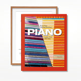 Piano: Complete Works 1966–Today, XXL Art Edition 'Menil Collection Foundation in Houston, Texas'