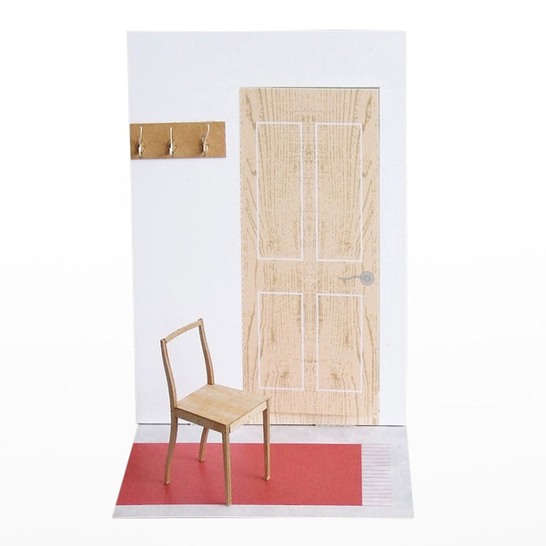 1:16 scale model Plywood Chair