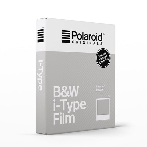 Polaroid Originals black and white I-Type film