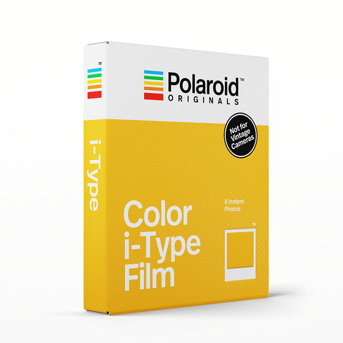 Polaroid Originals colour I-Type film