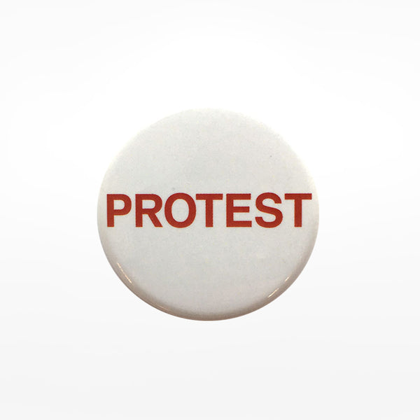Protest badge