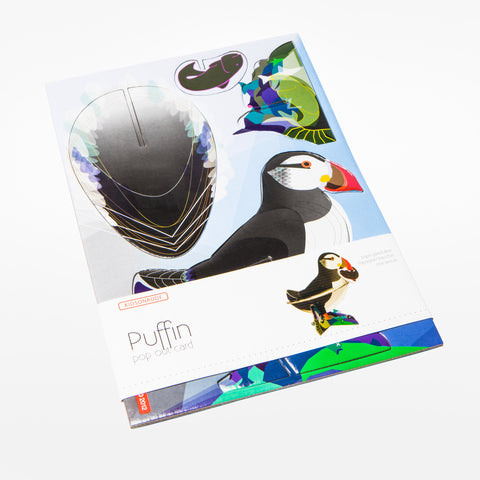 Puffin Pop-Out Card