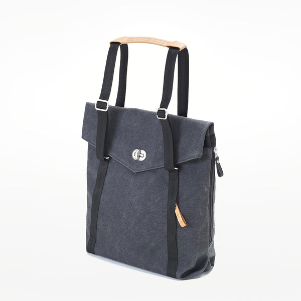 Qwstion Tote - washed black
