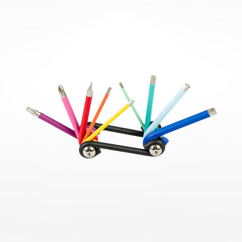 Rainbow multi-tool set