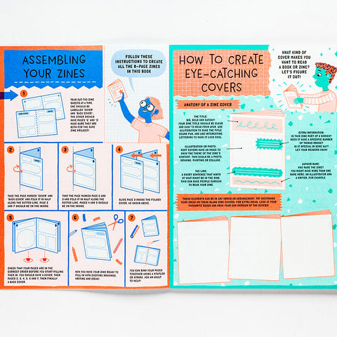 Read All About It!: 10 Mini-Magazines to Make and Share