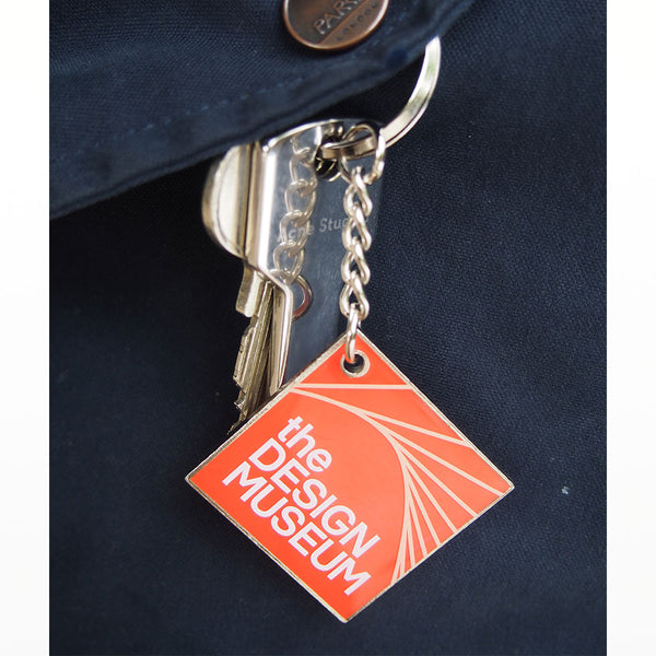 Design Museum keyring - red