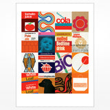 Sainsbury's Collage Giclee Print