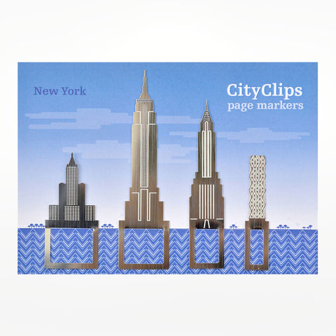 City Clips Page Markers - New York