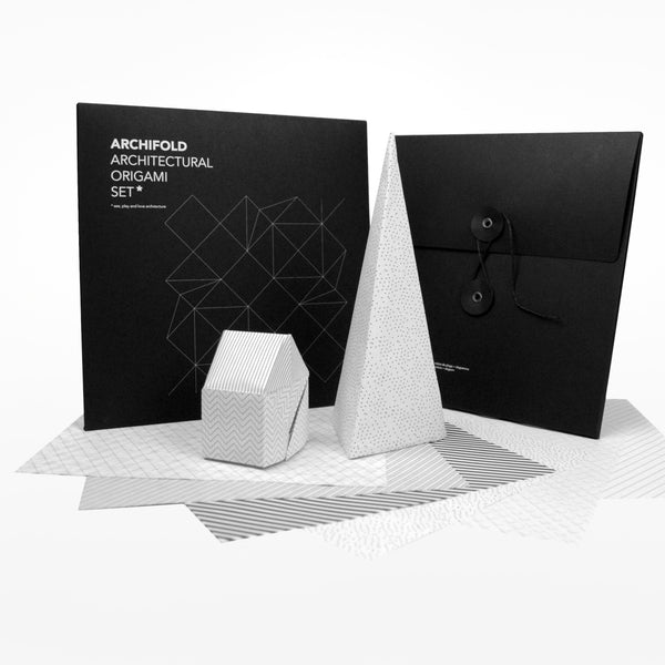 Archifold Architectural Origami Set Design Museum Shop