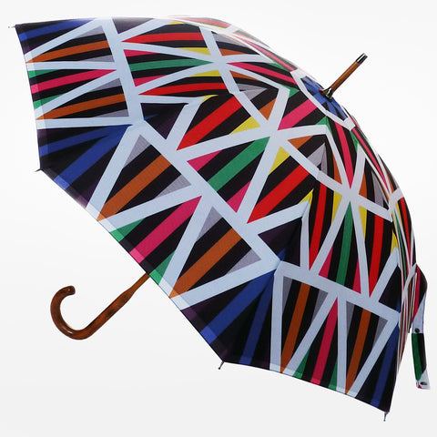 DavidDavid Arrow Print Umbrella