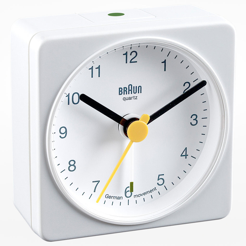 Braun square travel alarm clock