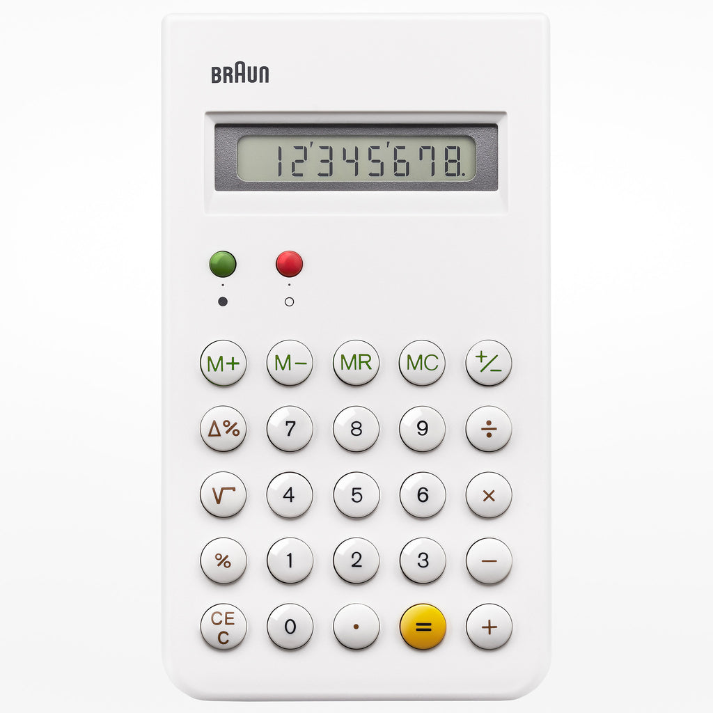 Braun pocket calculator
