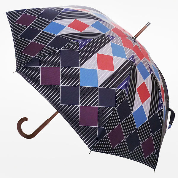 DavidDavid Check Print Umbrella