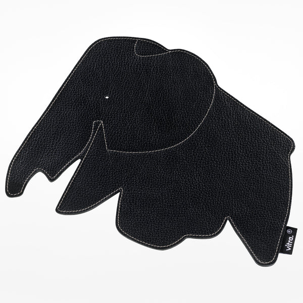 Elephant mouse pad Black