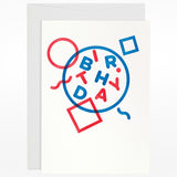 Jot Paper Co cards letterpress stamp happy birthday