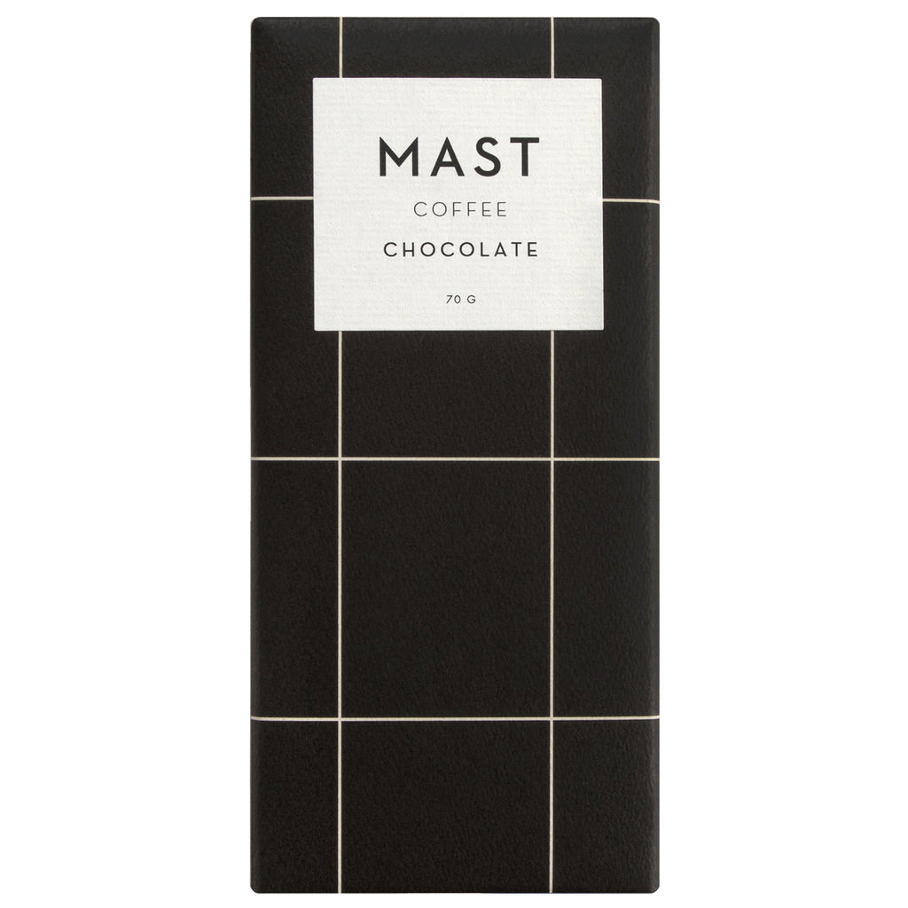 Mast Brothers milk chocolate bar with coffee
