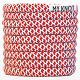 My Knot rope shoelaces - red