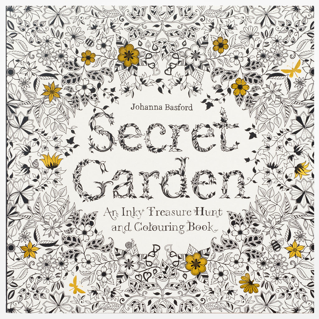 Flowers coloring book beautiful pictures from the garden of nature - Secret Garden An Inky Treasure Hunt And Colouring Book