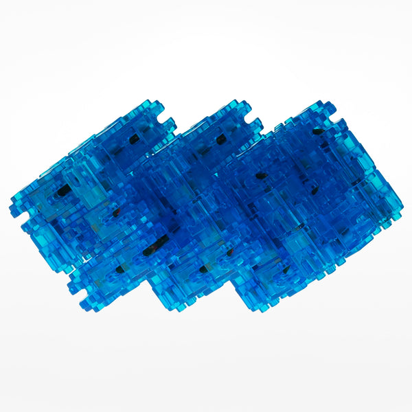Snaak 3D Puzzle Blue