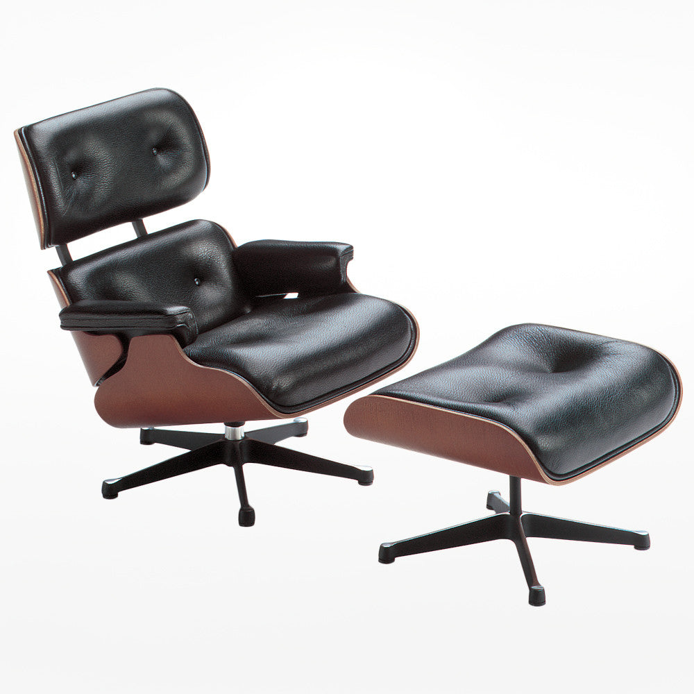 Vitra Miniatures - Lounge Chair and Ottoman – Design Museum Shop