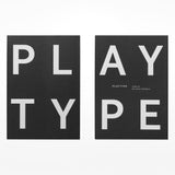 Playtype notebook - black