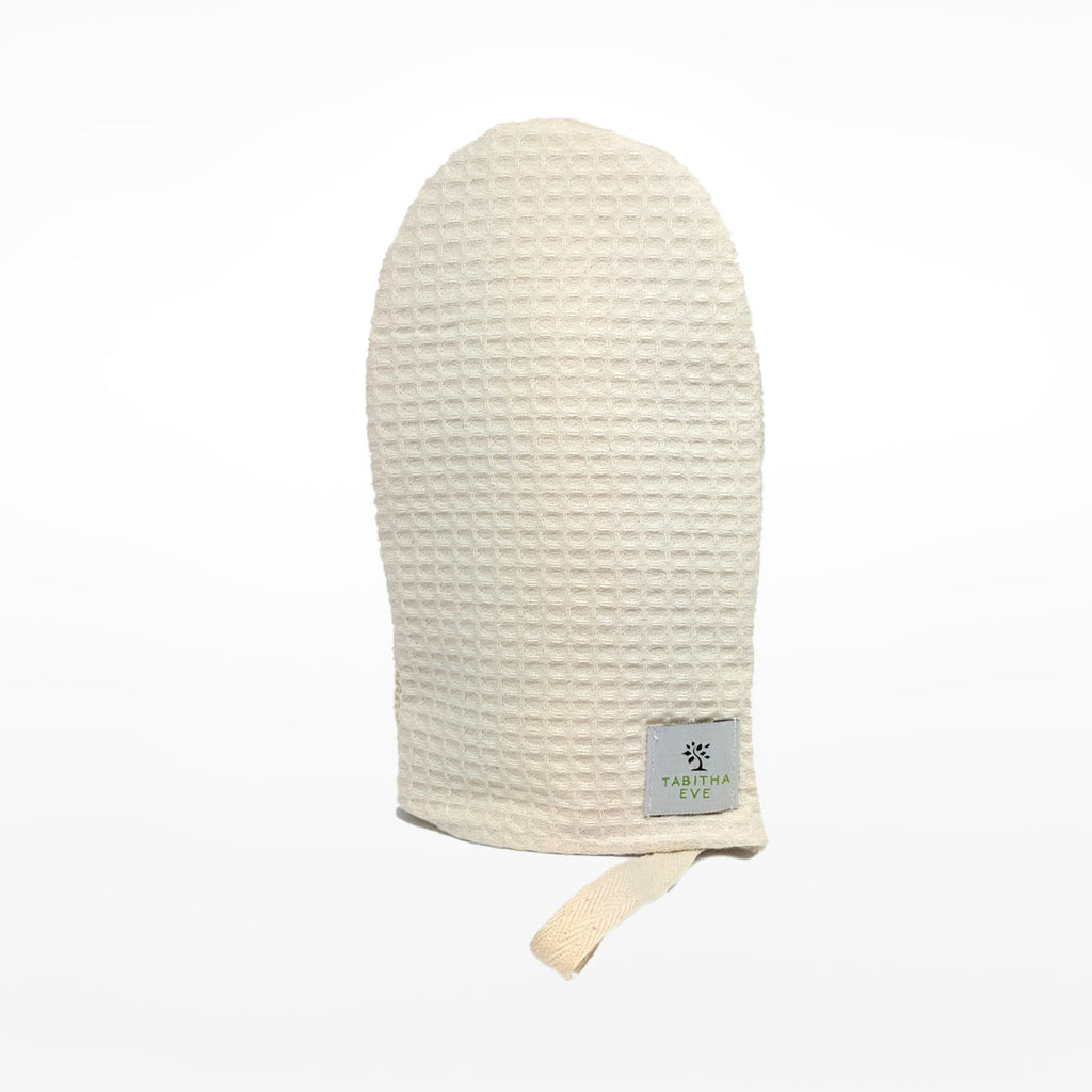 Cotton Shower Mitt