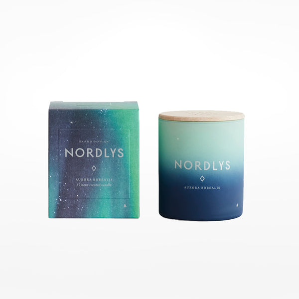 Nordlys candle