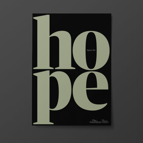 Space for hope poster
