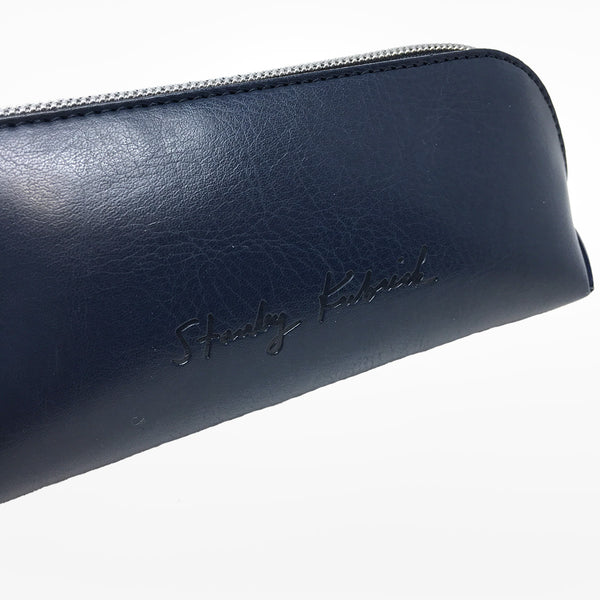Stanley Kubrick Signature Leather Pencil Case