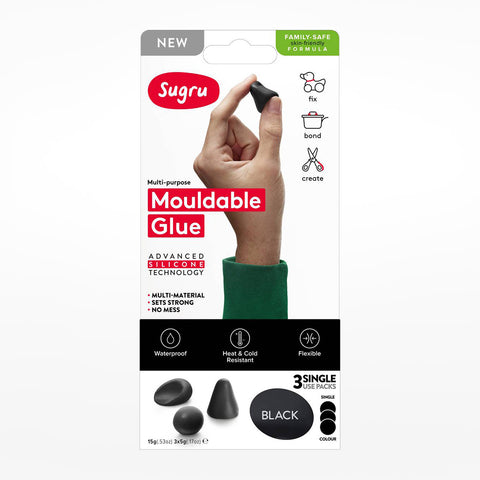 Sugru Black (3-Pack)