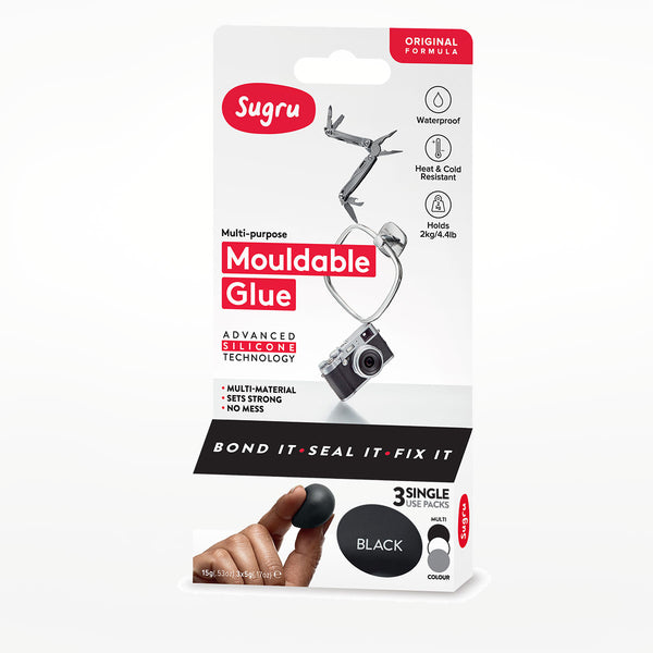 Sugru Black, White and Grey (3-Pack)