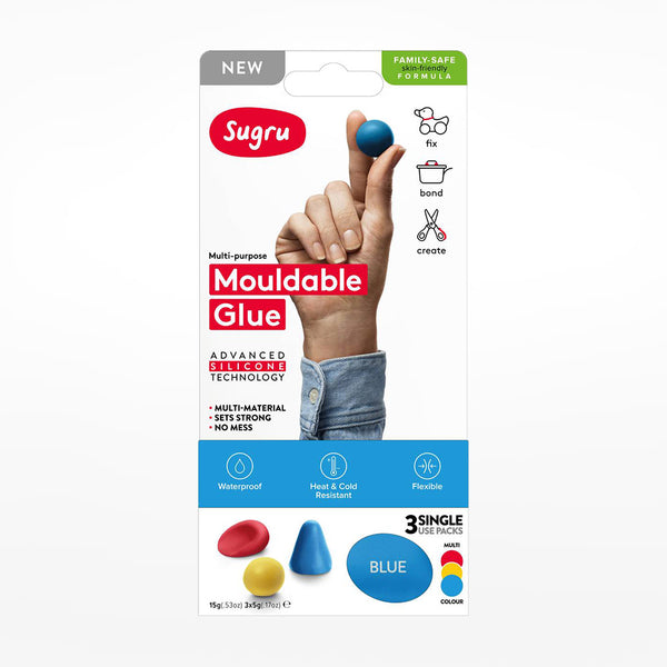 Sugru Multi Coloured (3-Pack)