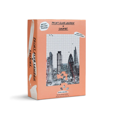Sunrise Sunset London Jigsaw Puzzle