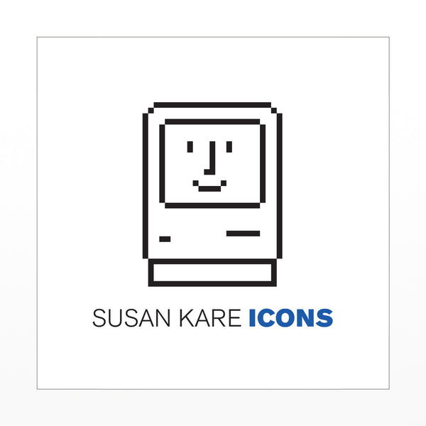 Susan Kare Icons - signed book