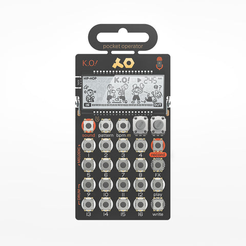 Pocket Synthesizer - K.O.