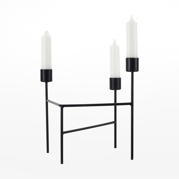 Three Candle Holder