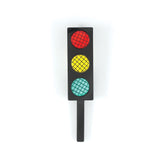 Traffic Light Brooch