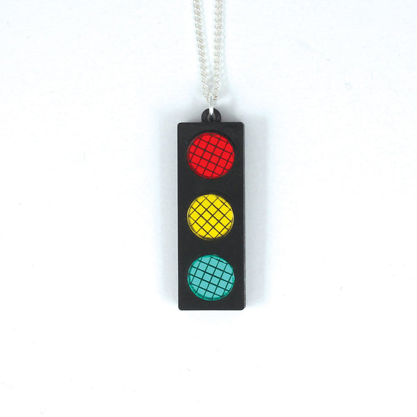 Traffic Light Necklace