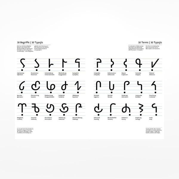 Typojis: Some New Characters / A Few More Glyphs