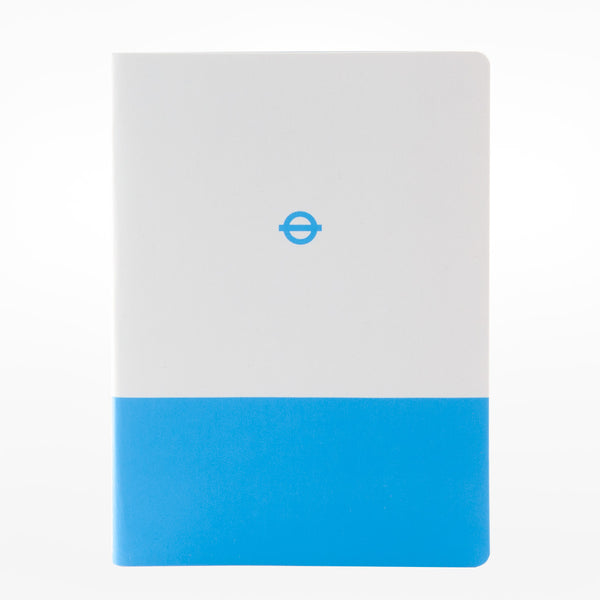 3 x A6 Tube Line Notebooks - District / Metropolitan / Victoria