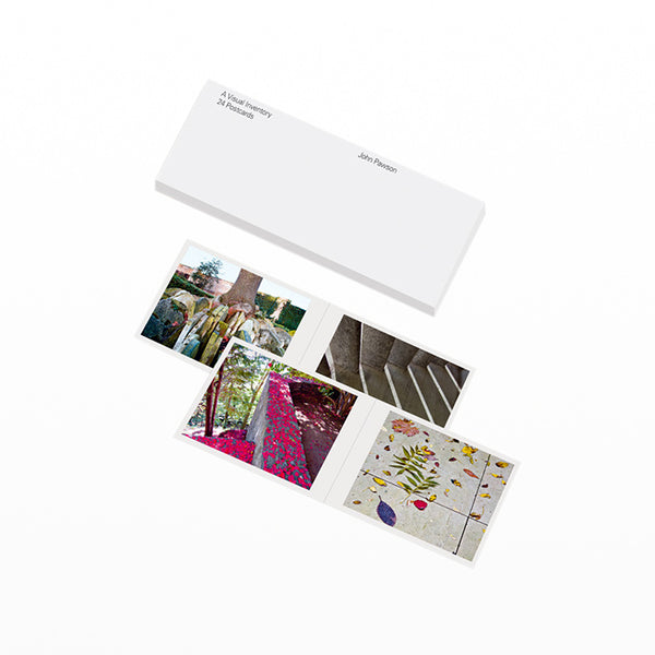 John Pawson: Visual Inventory Postcards