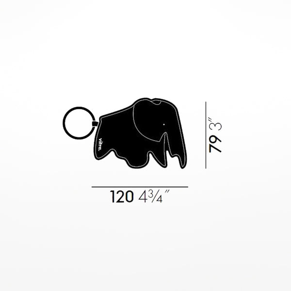 Elephant Key Ring