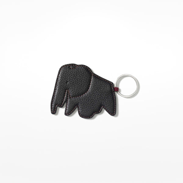 Elephant Key Ring - black