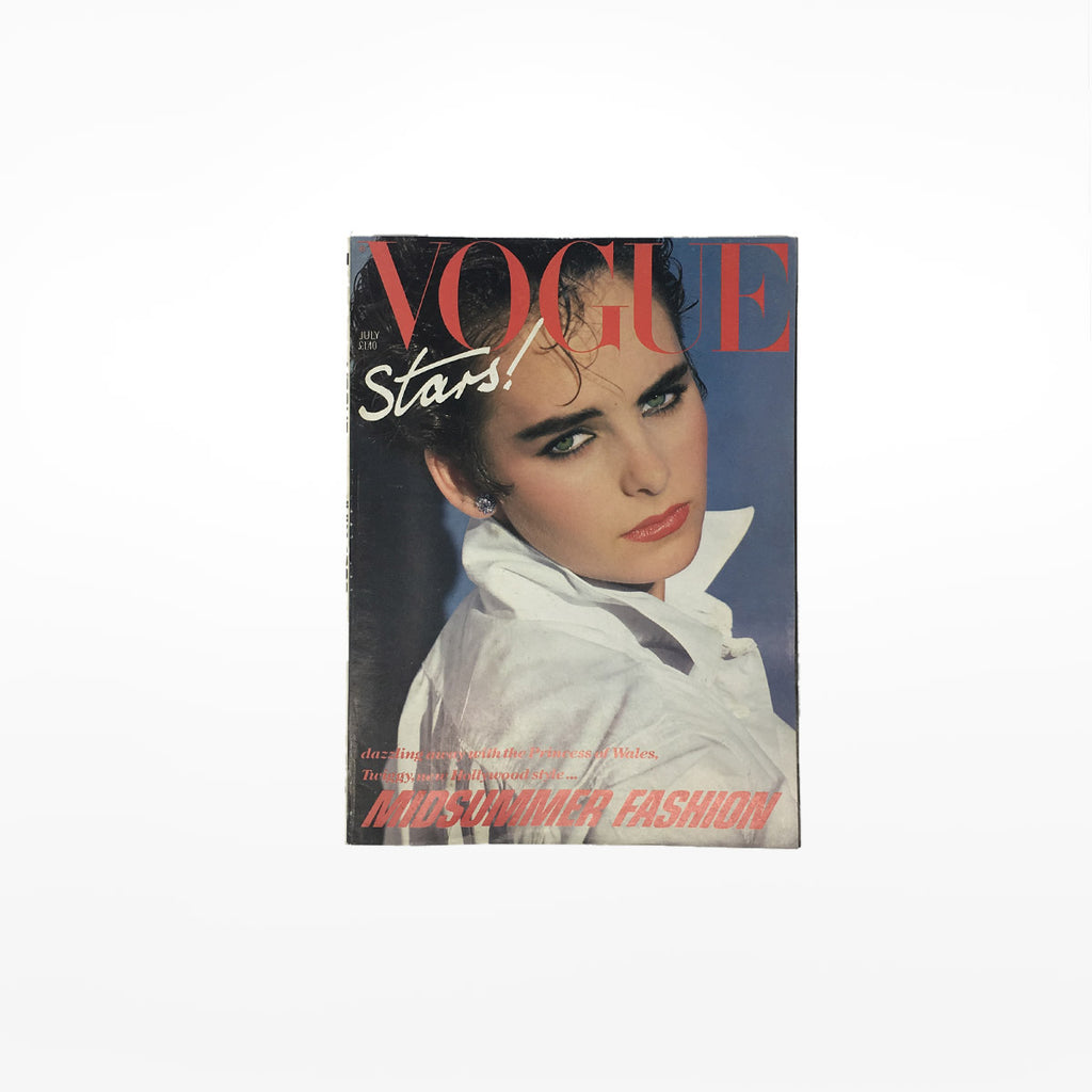 Vintage VOGUE Magazine - Jul 1983