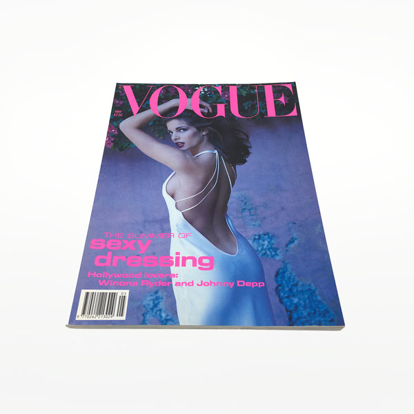 Vintage VOGUE Magazine - May 1991