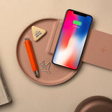 Wireless Charging Tray - pink