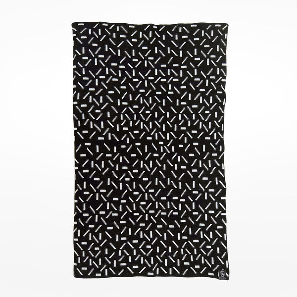 Dash Baby Blanket - black
