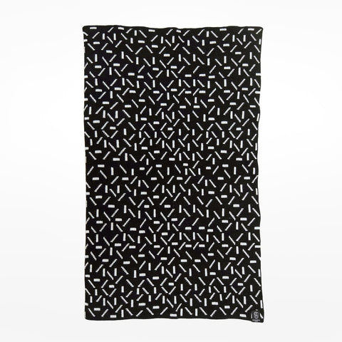 Black Shape Scarf