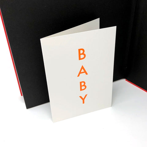 BABY Greetings Card